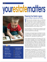 Your Estate Matters newsletter